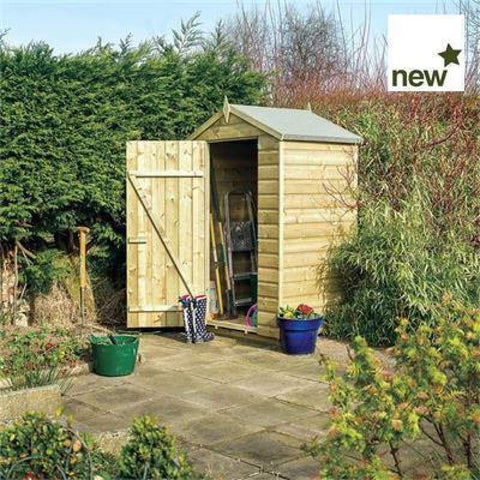 Rowlinson Oxford Shed - Wooden Garden Sheds