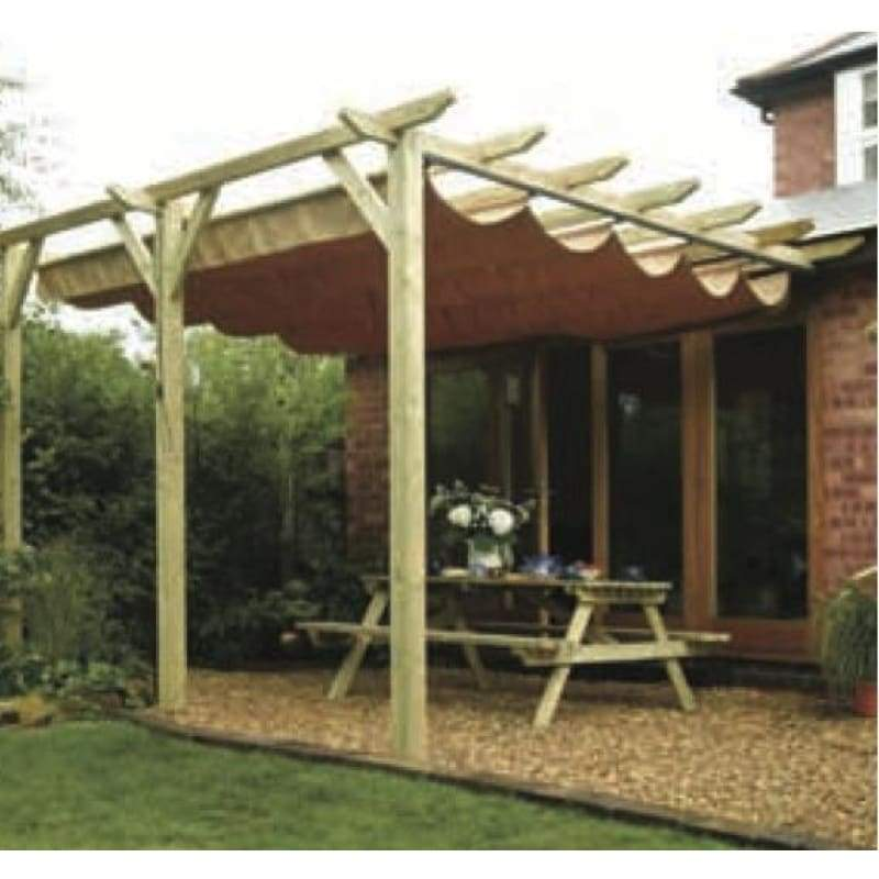 Rowlinson Sienna Wall Mounted Canopy - Patio Canopies