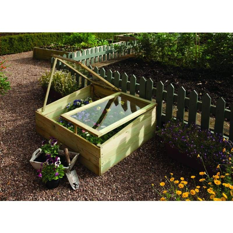 Rowlinson Timber Coldframe - Cold Frames