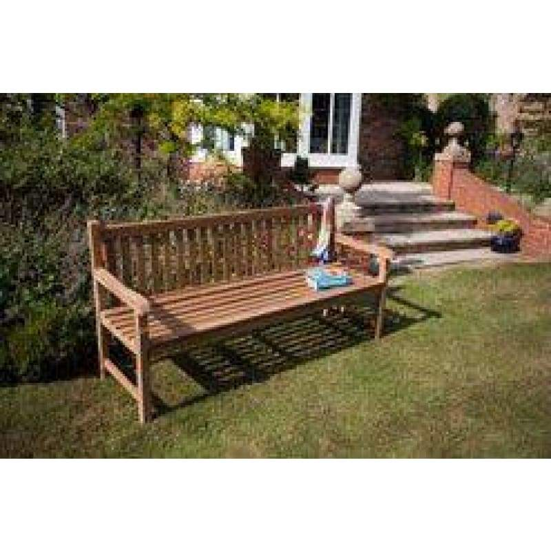 Westminster Solid Teak 1.8 Metre Bench - 4 Seater - Garden Benches