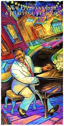 New Orleans Jazz and Heritage Festival Posters