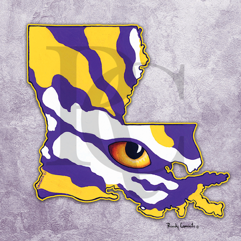 Eye of Louisiana