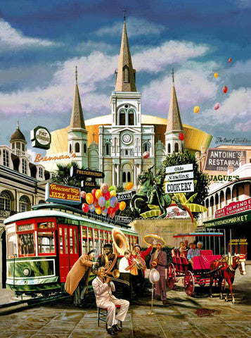 New Orleans Jazz Collage