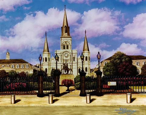 St Louis Cathedral BT