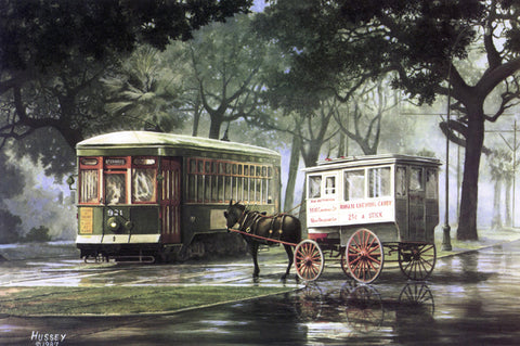 Roman Candy Wagon and Streetcar