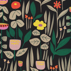 Wild Maru Black By Leah Duncan - Cloud9 Quilters Cotton