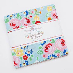 Bluebirds on Roses Charm Pack