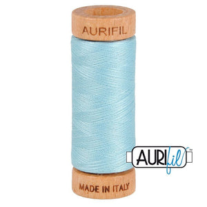 Aurifil 80wt thread - #2805 Light Grey Turquoise