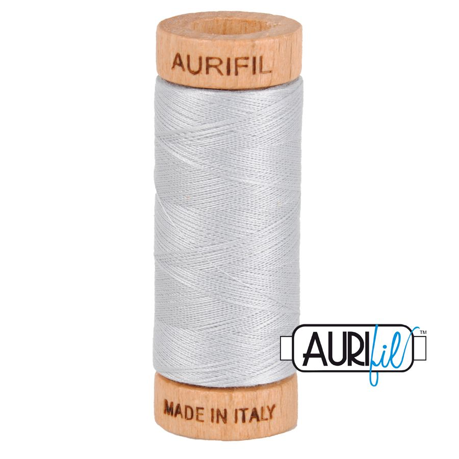 Aurifil 80wt thread - #2600 Dove Grey