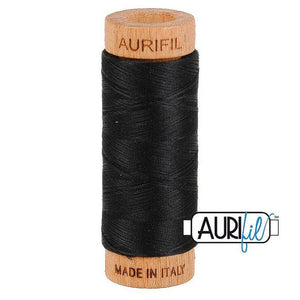 Aurifil 80wt thread - #2692 Black