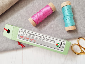 Tulip Hiroshima Embroidery Needles - Assorted  Sizes - Thin