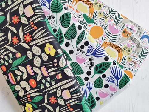 Wild pre-cut fat quarter bundle