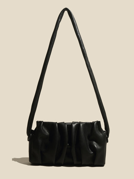 Women's Cap Mini bag Baseball Shoulder Bag In Black