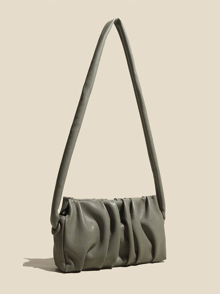 Women's Cap Mini bag Baseball Shoulder Bag In Olive
