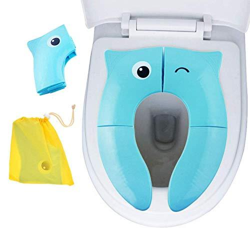 Motherly Potty seat Cover for Babies Toilet Training - Blue