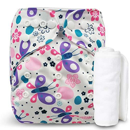 Motherly Reusable Cloth Diaper with 1 Insert - Pattern-D11