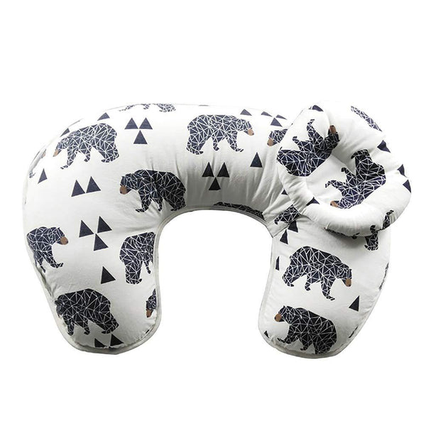 Motherly Nursing Pillow (Black Bear)