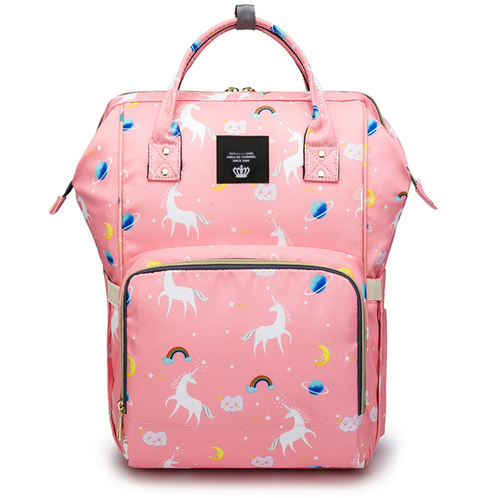 Motherly Diaper Bag - Unicorn Pink-Style2