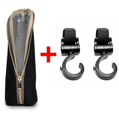 Motherly Stroller Hook + Botle Cover Combo Offer