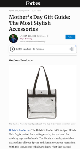 Forbes Gifts Outdoor Products
