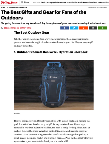 Rolling Stone Best Gift Guide Outdoor Products