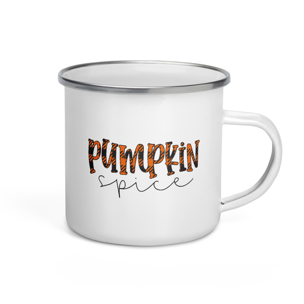 Pumpkin Spice Buffalo Plaid Coffee Mug | Pumpkin Spice Everything | Fall Mug | Camping Coffee Mug