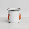 Pumpkin Spice Life Enamel Coffee Mug | Pumpkin Spice Everything | Pumpkin Spice | Camping Mug