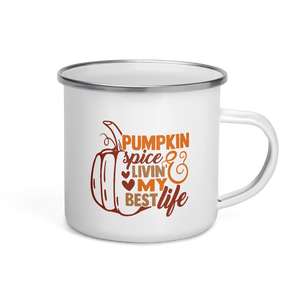 Pumpkin Spice Life Coffee Mug | Pumpkin Spice Everything | Fall Mug | Camping Coffee Mug