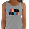 Sunday Funday Women's Tank Top | Funny Drinking Tank Top | Bar Party Women's Tank Top (5 Colors)
