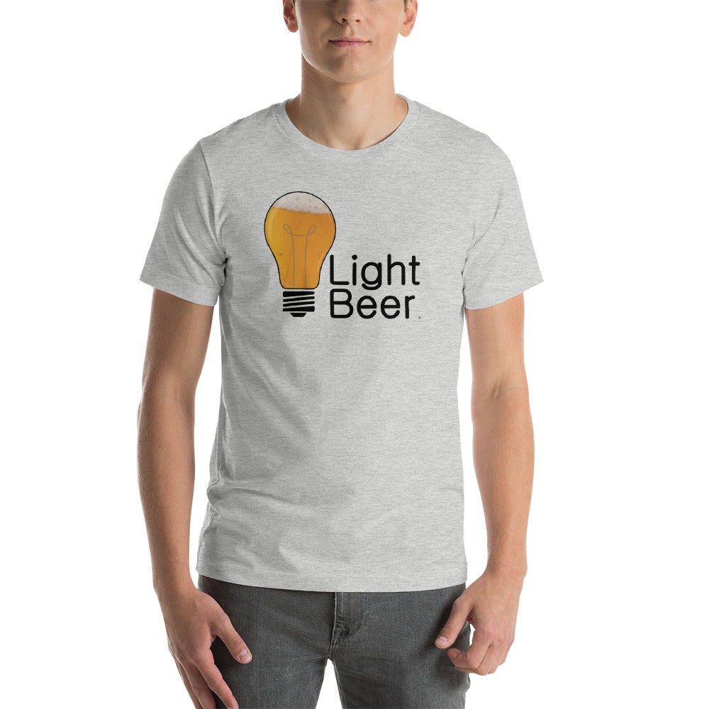 Light Beer Lite bulb Short-Sleeve Unisex T-Shirt (8 Colors)