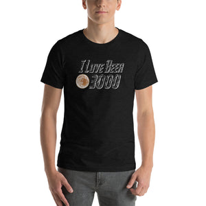 I Love Beer 3000 Short Sleeve Unisex T-shirt (5 Colors)