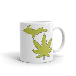 Michigan Marijuana Coffee Mug (2 Sizes)