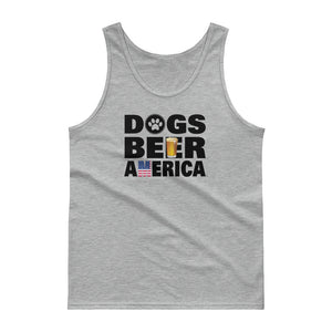 Dogs Beer America Tank top (4 Colors)