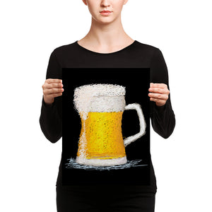 Beer Mug Scribble Canvas Prints