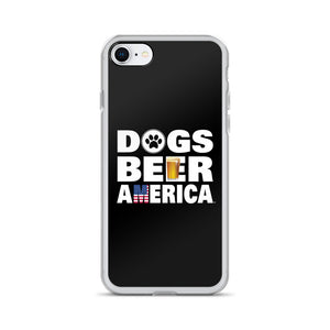 Dogs Beer America iPhone Case