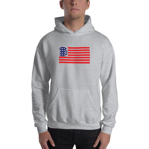Beer Mug American Flag Hooded Sweatshirt (5 Colors)