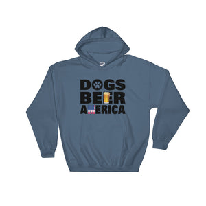 Dogs Beer America Hooded Sweatshirt (3 Colors)