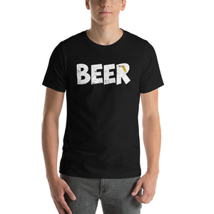 Textured Print Florida Beer Short-Sleeve Unisex T-Shirt (8 Colors)