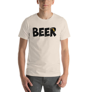 Textured Print Florida Beer Short-Sleeve Unisex T-Shirt (7 Colors)
