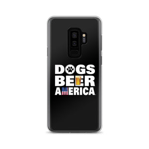 Dogs Beer America Samsung Case