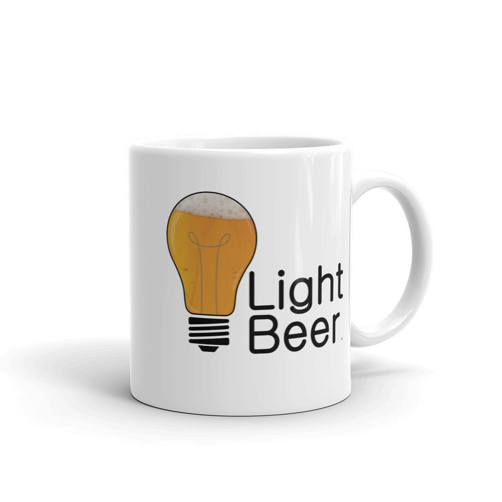 Light Beer Lite Bulb Coffee Mug