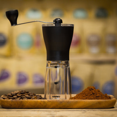 Hario Slim - Compact Hand Coffee Grinder