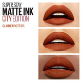 SuperStay Matte Ink Liquid Lipstick- 135 Globetrotter