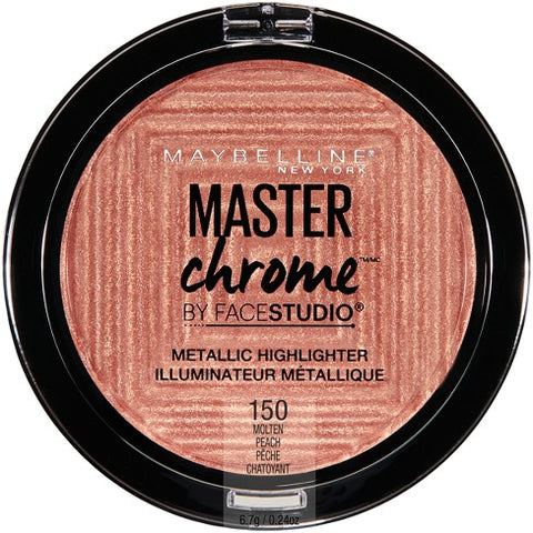 Face Studio Master Chrome Metallic Highlighter - 150 Molten Peach