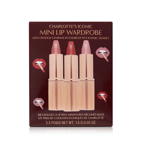 ICONIC MINI LIP WARDROBE Lipstick Trio