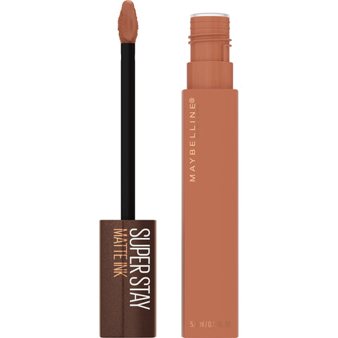 SuperStay Matte Ink Liquid Lipstick, Coffee Edition - 255 Chai Genius