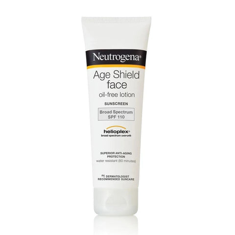 Neutrogena Age Shield Face Oil-Free Lotion Sunscreen Broad Spectrum SPF 110