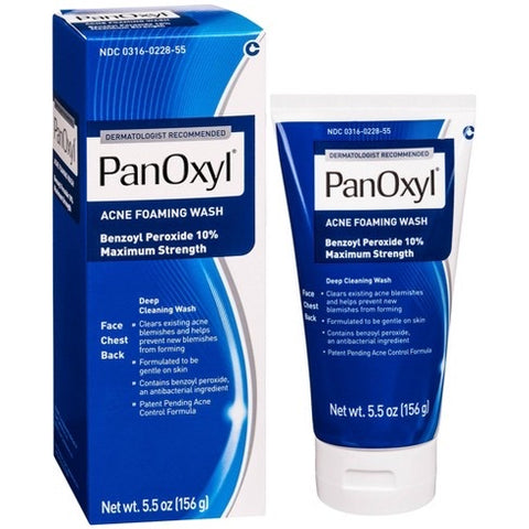PanOxyl's Maximum Strength Acne Foaming Wash