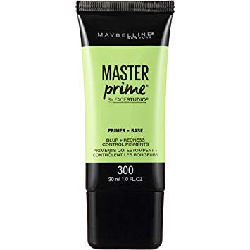 FaceStudio Master Prime Blur Redness + Control Pigments