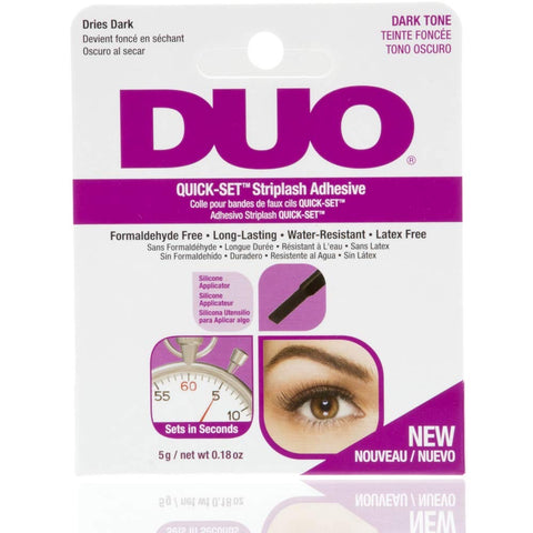 Duo Quick Set Strip Lash Adhesive - Dark